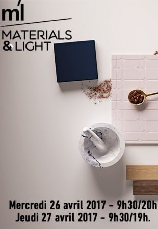 Retour sur le salon Materials & Light à Paris